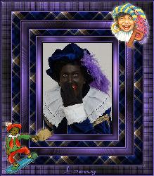 Zwarte Piet frame - Piet's Frame