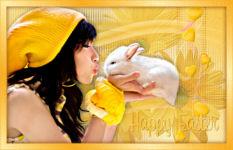 Osterhasengruss - Happy Easter