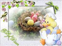 Vrolijk Pasen 2 - les van Jeanne